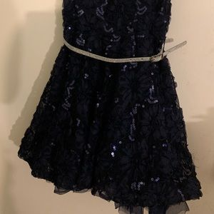 Navy blue event dress